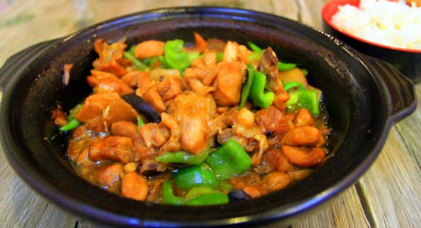 曹轩阁招牌黄焖鸡米饭