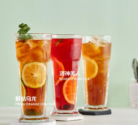 e茶e卷柠檬茶