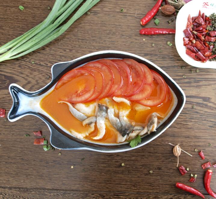 酸菜小鱼爱上冒菜番茄味