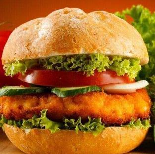 波客派炸雞漢堡