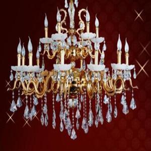 欧式水晶客厅灯