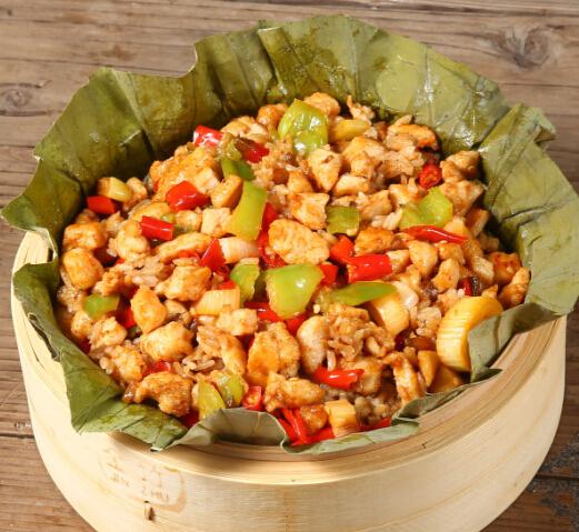 荷香奇食荷叶饭营养