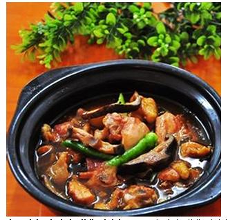 福之福招牌黄焖鸡米饭