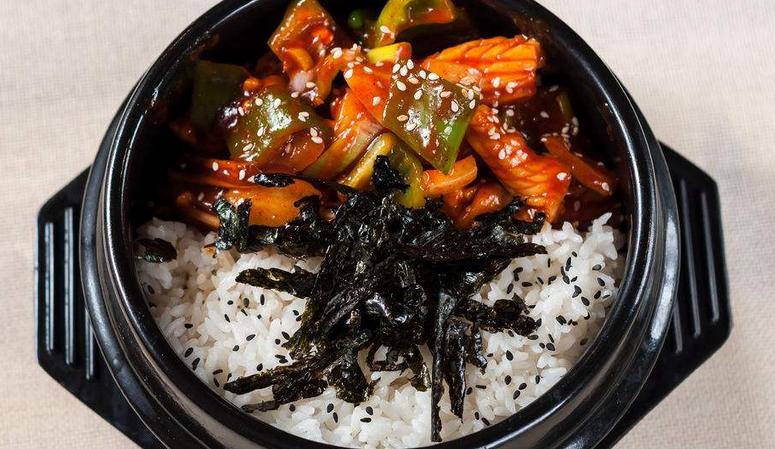 韩膳阁石锅拌饭美味