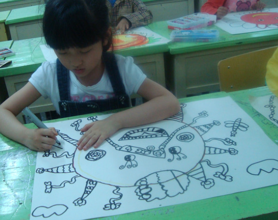幼启小小绘画班课程