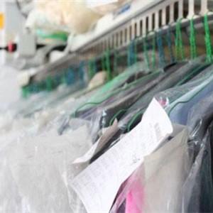 洁仕达洗衣干洗完成的衣服