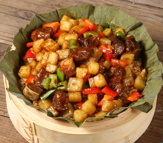 荷香奇食荷叶饭健康