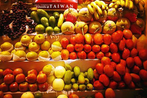 水果店展示