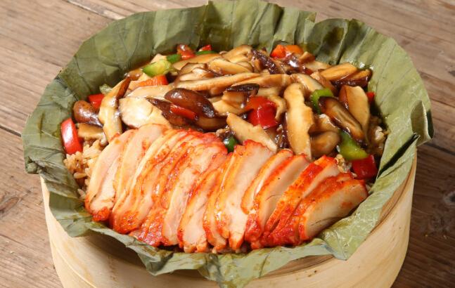 荷香奇食荷叶饭美味