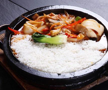 韩膳阁石锅拌饭健康
