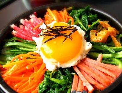 韩聚阁石锅拌饭健康
