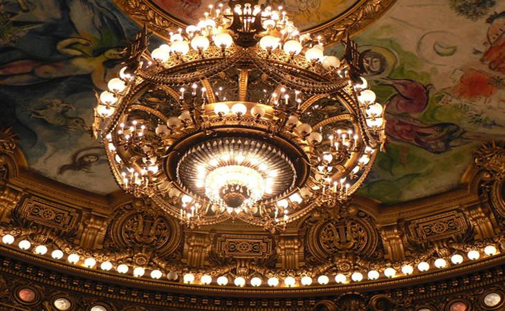 欧式古典尊贵水晶吸顶灯