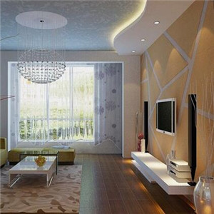 梵兰帝立体墙艺漆客厅