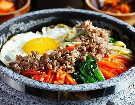 韩罗苑石锅拌饭健康