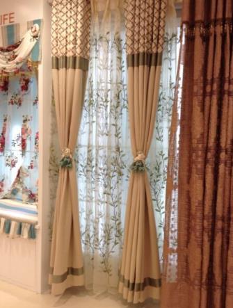 优纺客窗帘家纺窗帘