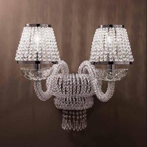 琉璃水晶壁灯
