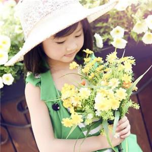 安迪尔儿童摄影菊花