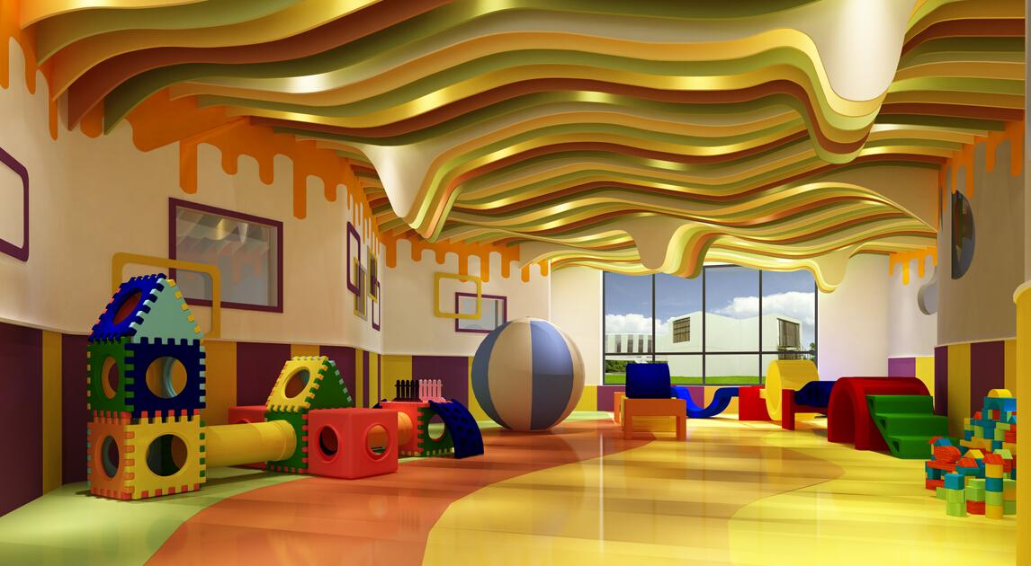 欧顿幼儿园室内
