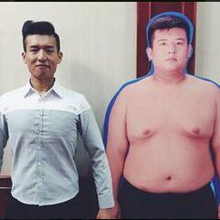 祖嘉泽减肥对比图2