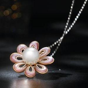 卡莱欧珠宝永生花项链
