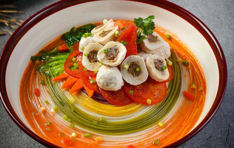 果蔬渔粉蔬菜鱼丸口味
