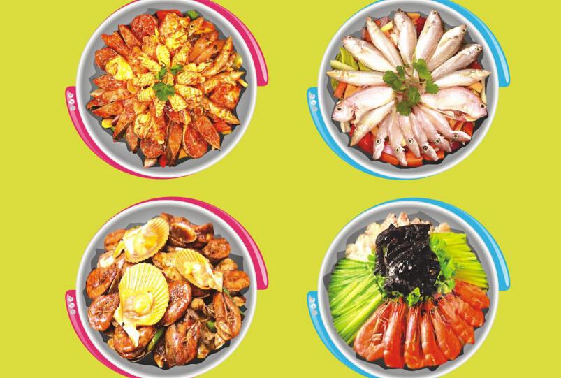 铁锅门小海鲜香辣馆菜品