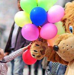 酷米乐儿童乐园气球