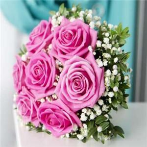 卉和水玫瑰花本水花束