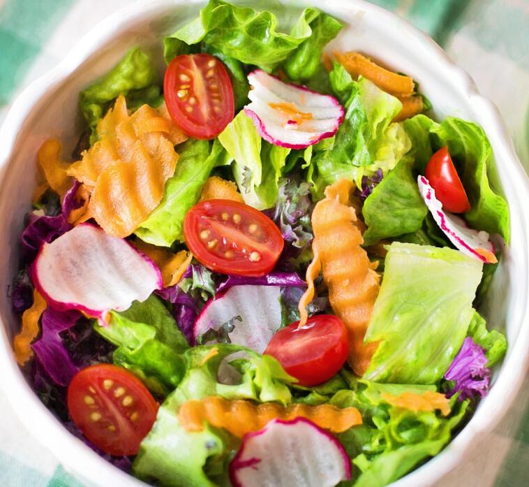 蔬方沙拉美味