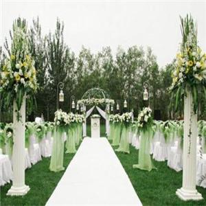 婚庆礼仪深绿