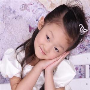 百日儿童摄影紫色