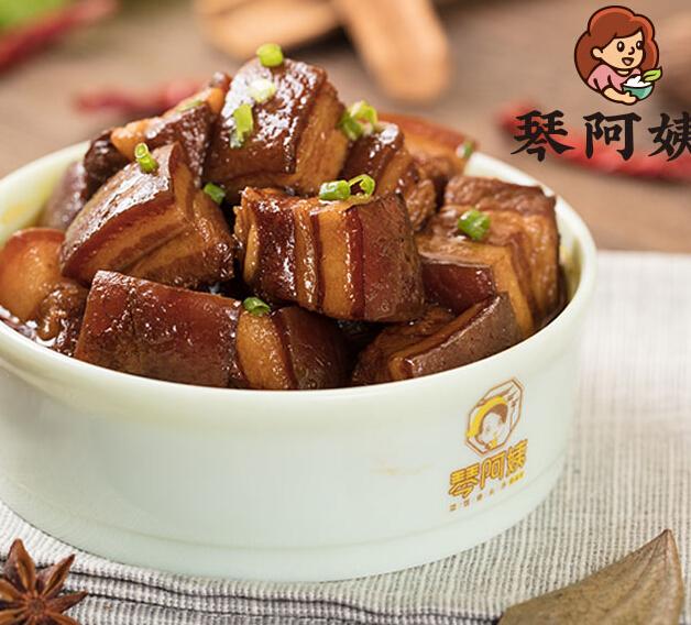 琴阿姨骨汤菜饭红烧肉