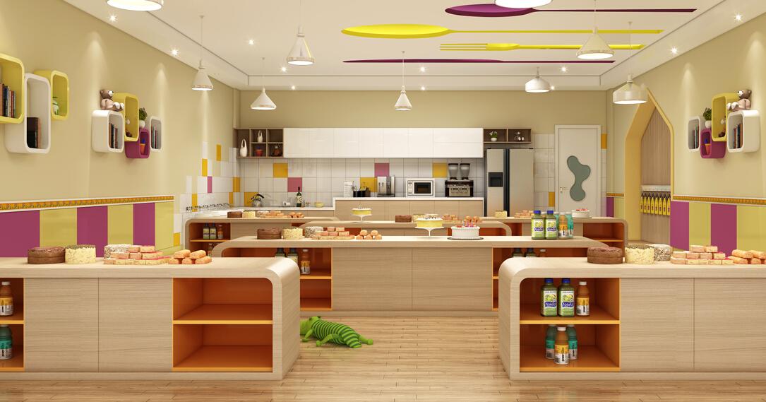欧顿幼儿园烘焙室