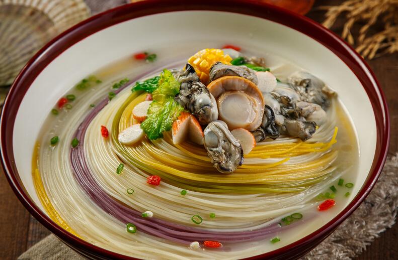 果蔬渔粉牡蛎