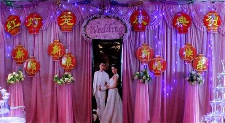 红灯笼婚礼现场