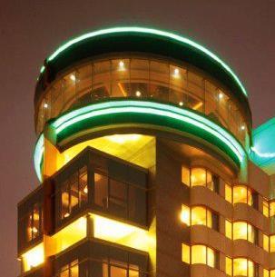 港中旅维景酒店夜景