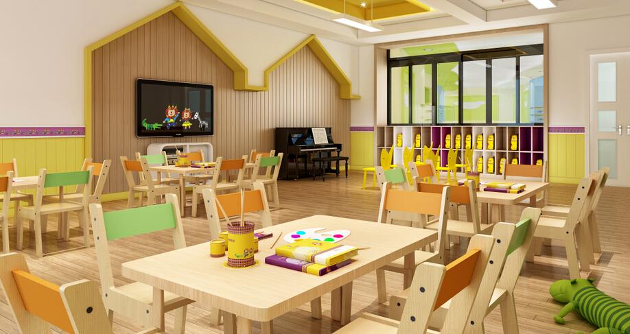 欧顿幼儿园画室