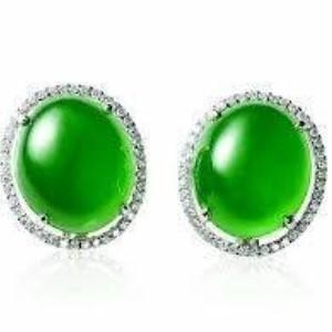 卡萊歐珠寶翡翠耳環