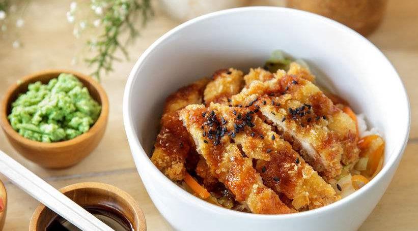 龙记香酥鸡排饭套餐