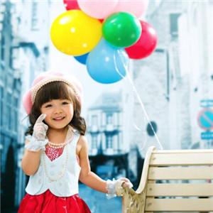 安爵儿童摄影气球