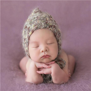 宝贝优儿童摄影毛线帽