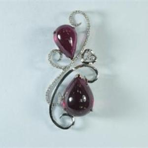 卡萊歐珠寶寶石胸針