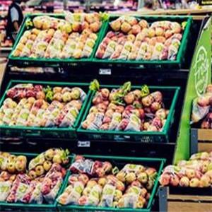 好士得超市水果区