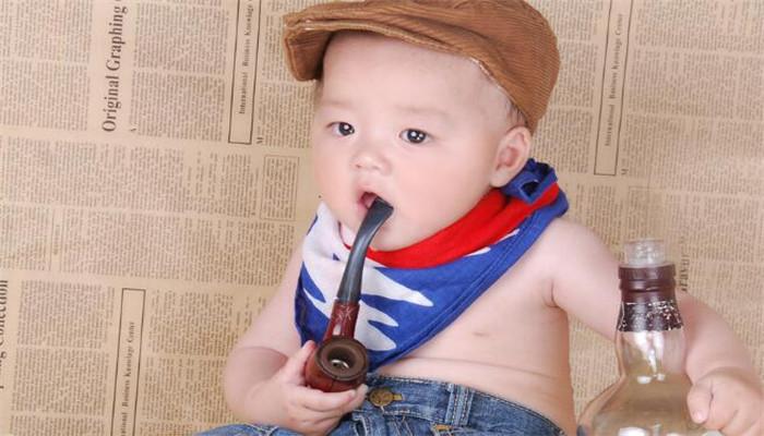 安爵儿童摄影帽子