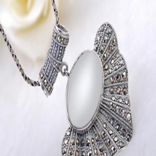 老银坊时尚银饰项链