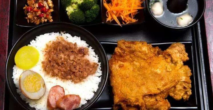 龙记香酥鸡排饭美味套餐