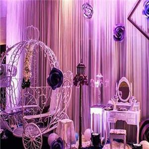 婚庆礼仪紫色