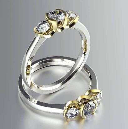 玉洁饰品戒指