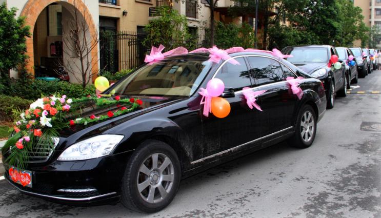 私家车加入婚庆