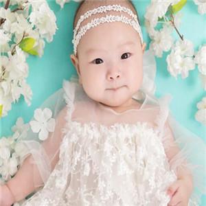 芭比儿童摄影婚纱